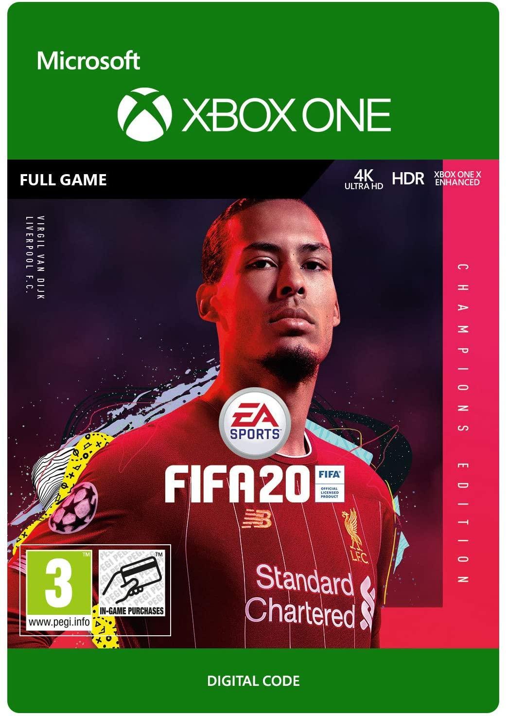 FIFA 20 Champions Edition (Xbox One) kod