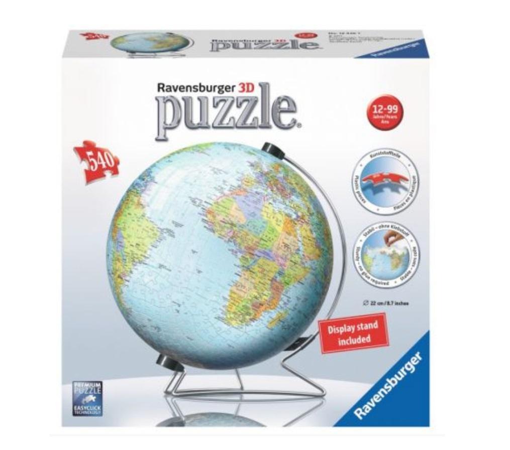 Puzzle 3D Globus 540 elementów