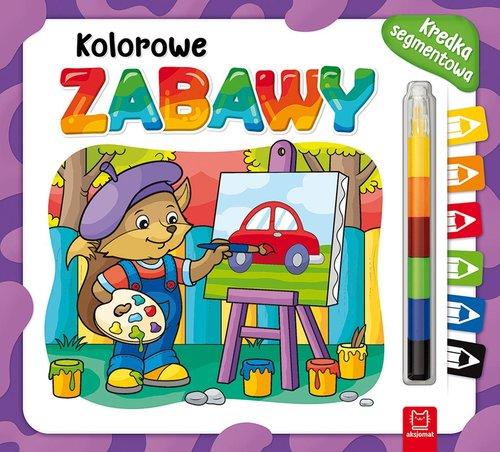 Kolorowe zabawy Kredka segmentowa