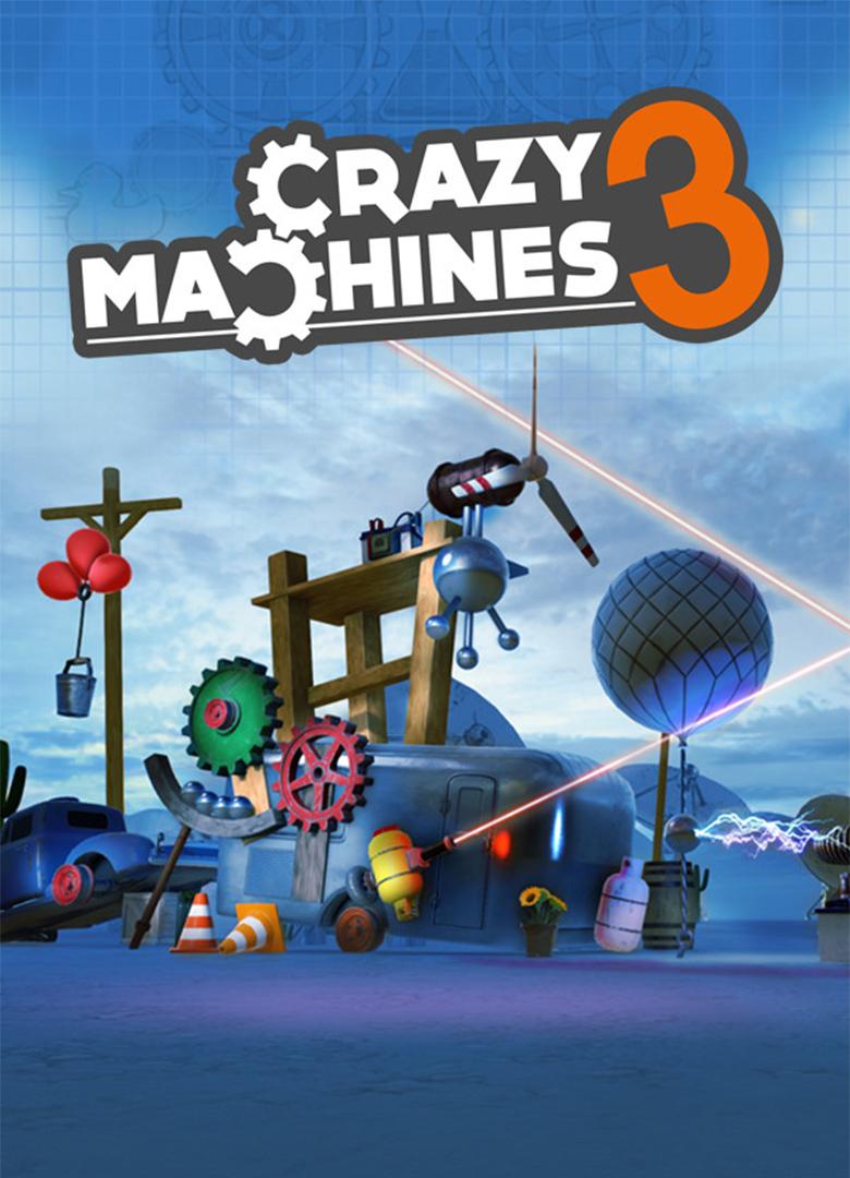 Crazy Machines 3 (PC) PL Klucz Steam