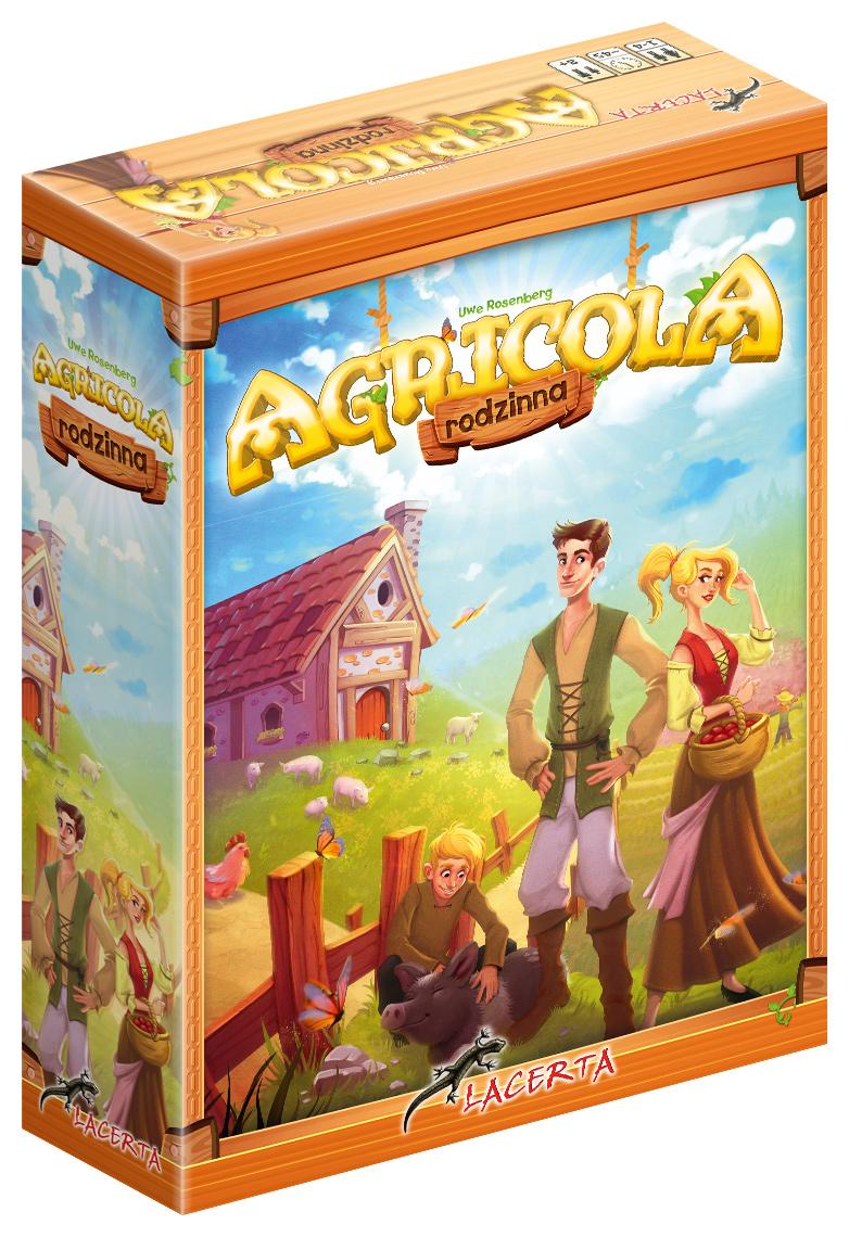 Agricola (wersja rodzinna nowa edycja) (Gra Planszowa)