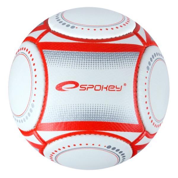 Piłka nożna biało czerwona E2016 Polska VIP 837372 SPOKEY