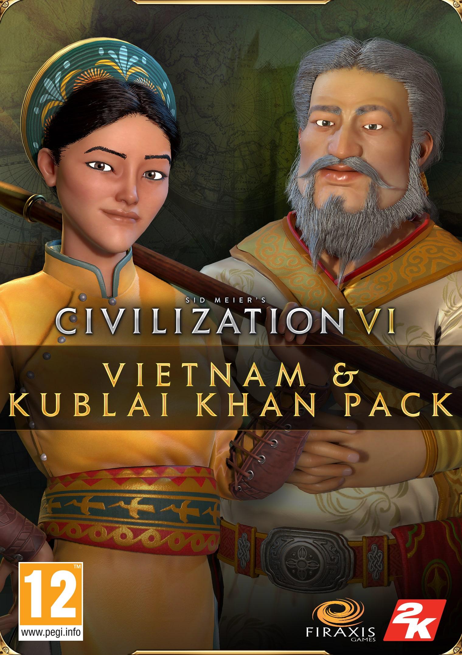 Civilization VI – Pakiet Wietnamu i Kubilaj-chana (PC) Klucz Steam