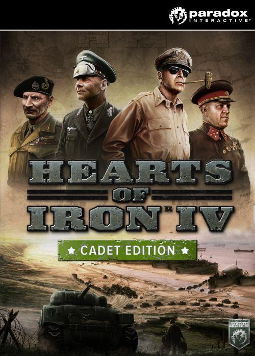 Hearts of Iron IV: Cadet Edition (PC/MAC/LX) klucz Steam