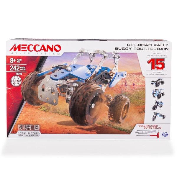 PROMO Meccano Core Multi zestaw 15 modeli- pojazd terenowy