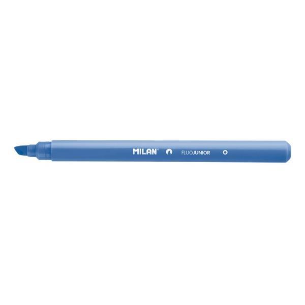 Zakreślacz Fluo Junior niebieski pud. p22 MILAN