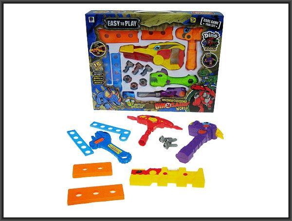 Zestaw narzędzi Dino 15cz. św dźw w pud. 661-344/345