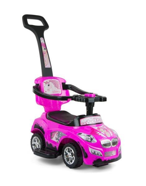 Pojazd dla dzieci Happy Pink