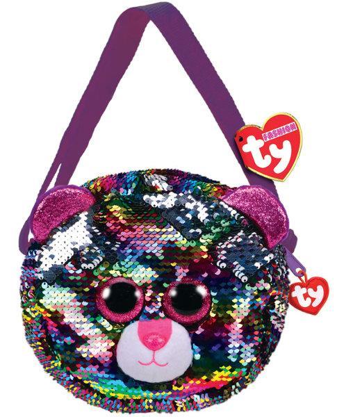 TY Fashion Sequins cekinowa torba na ramię DOTTY - leopard 95124