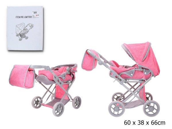 Wózek głęboki dla lalek w pudełku GMT001 cena za 1 szt