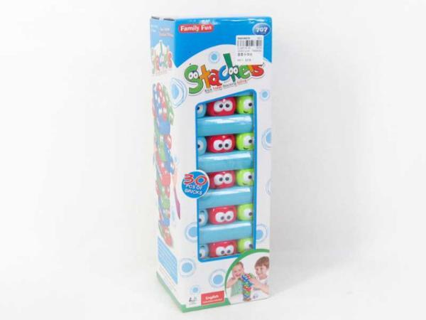 Gra wieża buźki w pudełku BGR3490