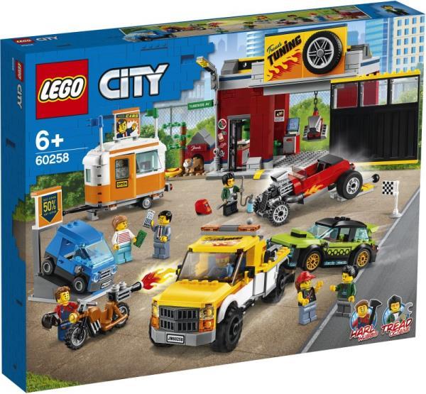 PROMO LEGO 60258 CITY Warsztat tuningowy p4