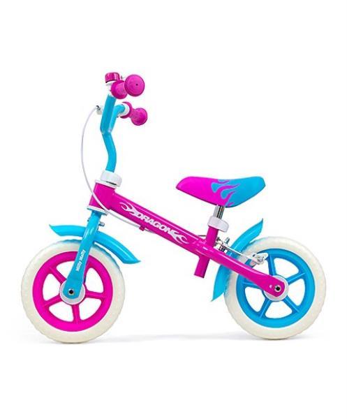 Rowerek biegowy Dragon z hamulcem Candy 2653 MILLY MALLY