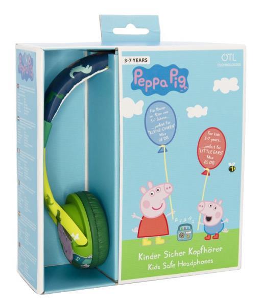 Słuchawki dla dzieci Peppa Pig George i dinozaury OTL PP0697D