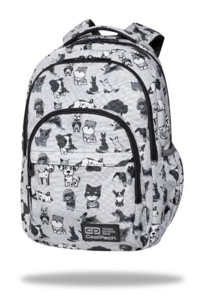 Plecak Młodzieżowy Basic Plus Doggies C03180 CoolPack