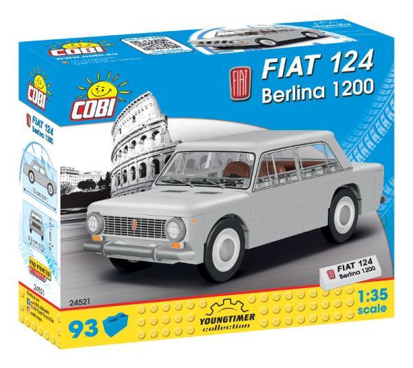 COBI 24521 Youngtimer 1967 Fiat 124 Berlina 1200 93kl