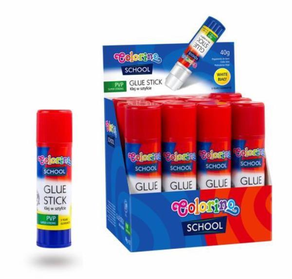 Klej w sztyfcie PVP 40g Colorino Kids p20 42774 cena za 1 sztukę