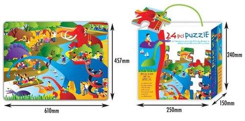 Mata Dino 24 elementy
