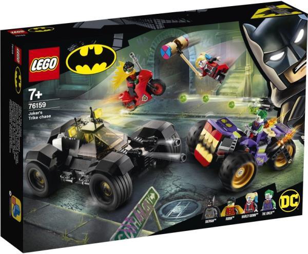 LEGO 76159 SUPER HEROES Trójkołowy motocykl Jokera p3