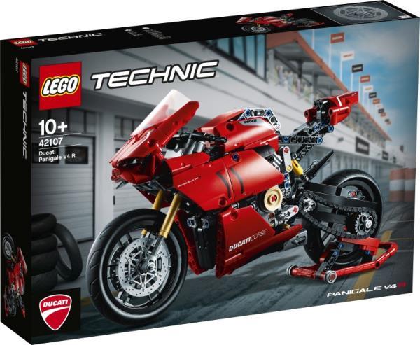 LEGO 42107 TECHNIC Ducati Panigale V4 R p3