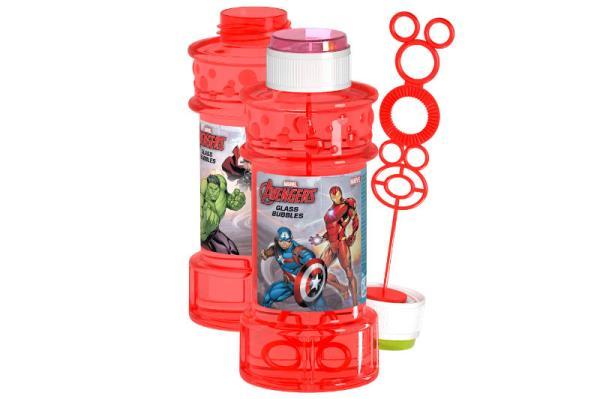Bańki mydlane duże 300ml p12 Avengers DULCOP cena za 1 sztukę