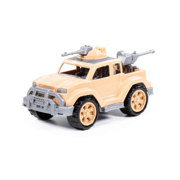 Polesie 83623 Samochód PickUp wojskowy - Safari Legionista mini z 2-ma karabinami maszynowymi w siatce