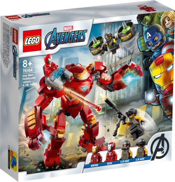 LEGO 76164 SUPER HEROES Hulkbuster Iron Mana kontra agenci A.I.M. p5