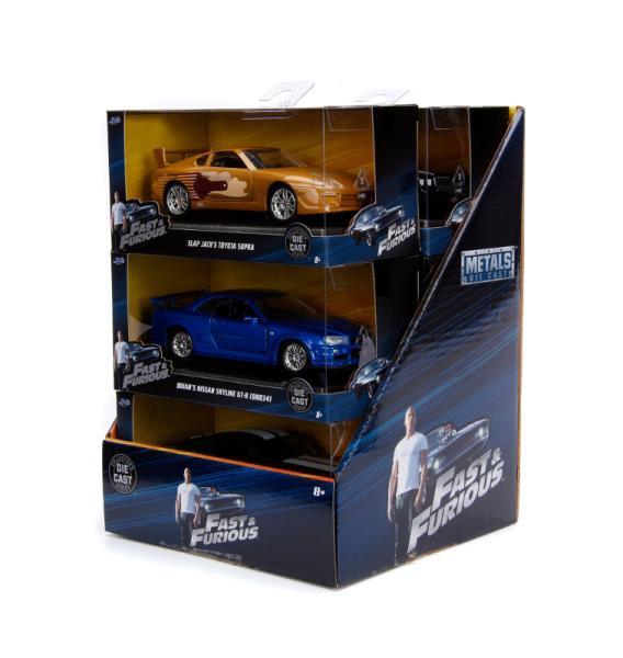 Auto Fast&Furious Szybcy i wściekli 1:32 Cena za 1szt