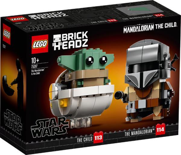 LEGO 75317 STAR WARS TM Mandalorianin™ i Dziecko p4