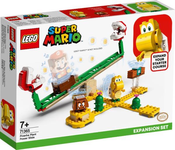 LEGO 71365 SUPER MARIO T Megazjeżdżalnia Piranha Plant — zestaw rozszerzający p6