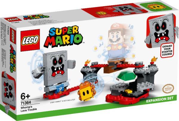 LEGO 71364 SUPER MARIO T Tarapaty w forcie Whompa — zestaw rozszerzający p6