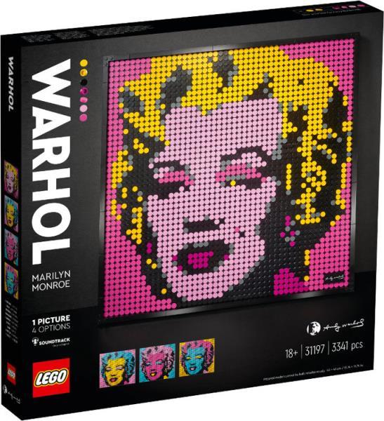 LEGO ART 31197 Marilyn Monroe Andy'ego Warhola p3