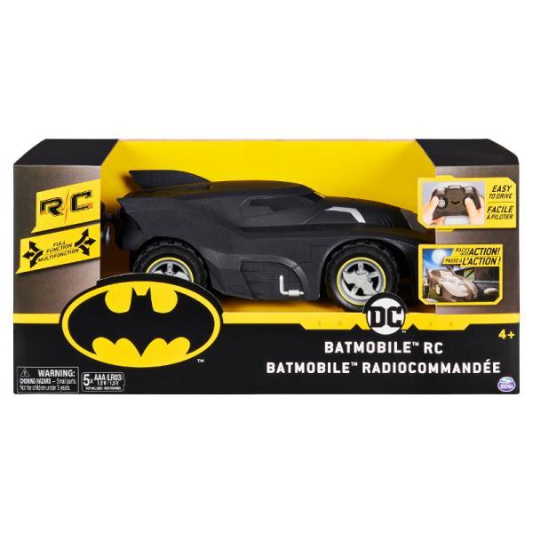 Auto Batmobile sterowany na radio 6058489 SPIN MASTER