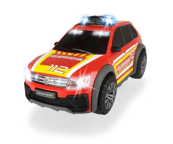 SOS Samochód strażacki VW Tiguan R-Line Dickie