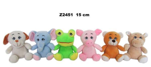 Zwierzęta 6 wzorów 15 cm Cena za 1szt