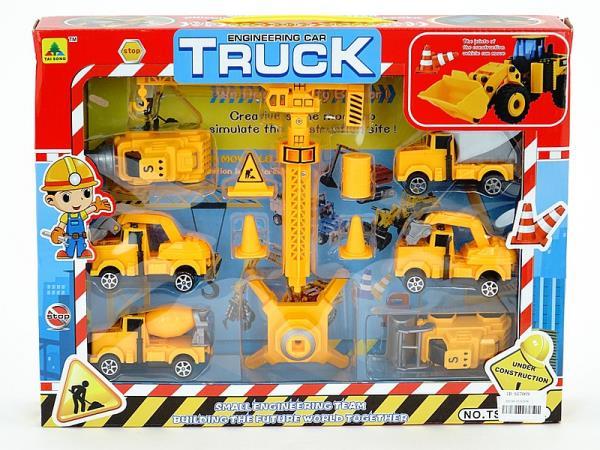 Zestaw pojazdów budowlanych 526808 ADAR