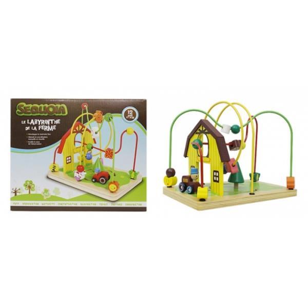 Drewniany labirynt Farma 1003334 cena za 1 szt