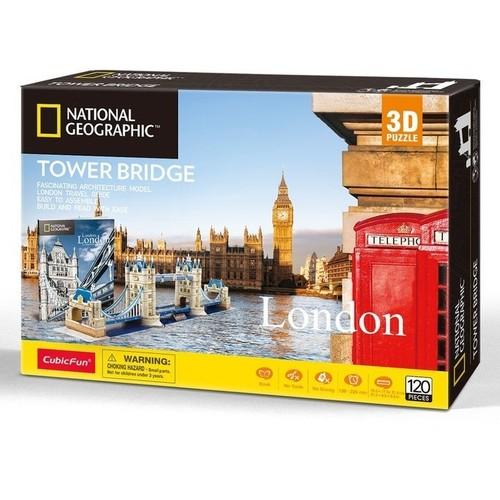 Puzzle 3D National Geographic London Tower Bridge