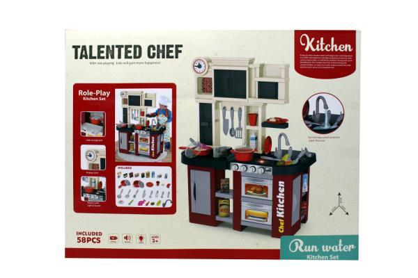 Kuchnia Zdolny kucharz, z wodą i światłem 1002414