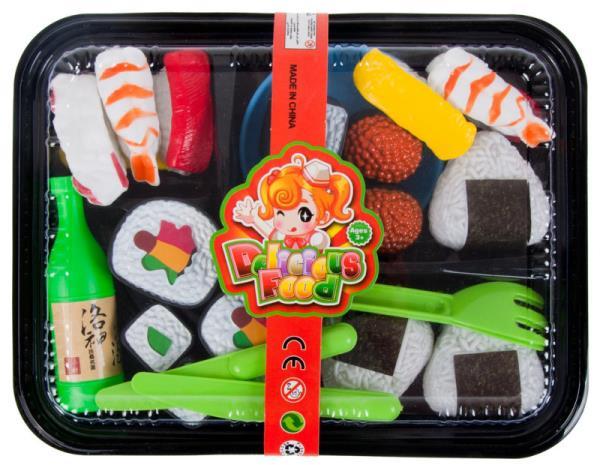 Zestaw kuchenny: żywność, tacka sushi MC