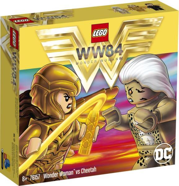 LEGO 76157 SUPER HEROES Wonder Woman kontra Cheetah