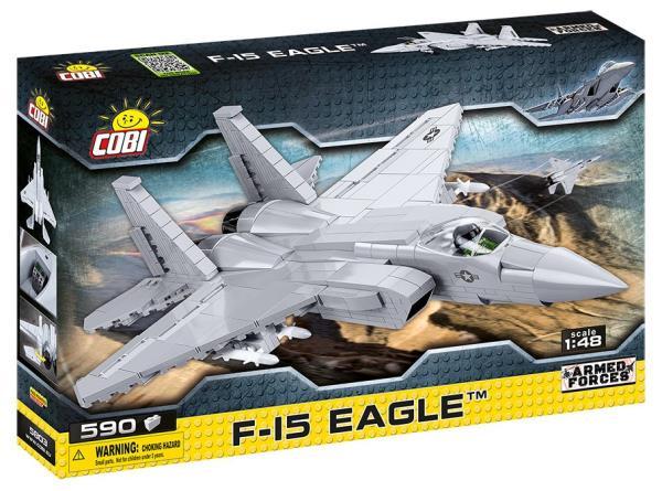 COBI 5803 Armed Forces F-15 Eagle 640 klocków
