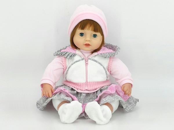 Lalka z dźwiękiem siedząca 530119