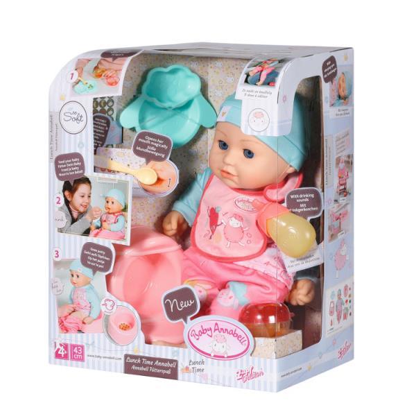 Baby Annabell® Lalka 43cm zestaw z jedzeniem 702987