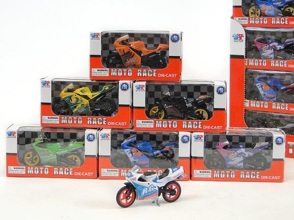 Motocykl metalowy 202955