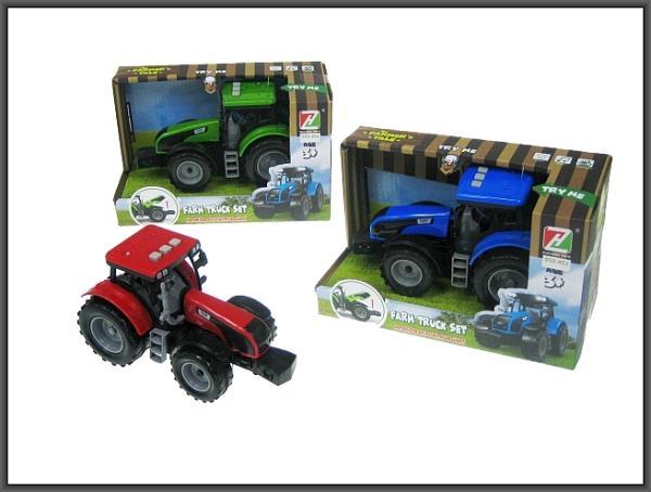 Traktor 18cm światło, dźwięk napęd na koła zamachowe 550-45JHIPO cena za 1 szt