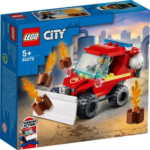 LEGO 60279 CITY Mały wóz strażacki p4