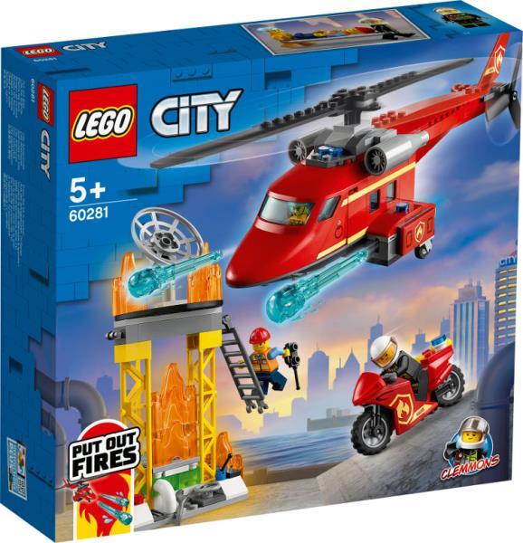 LEGO 60281 CITY Strażacki helikopter ratunkowy p3
