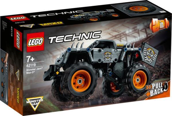 LEGO 42119 TECHNIC Monster Jam Max-D p4