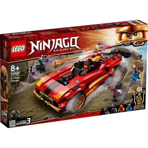 LEGO 71737 NINJAGO Ninjaścigacz X-1 p3